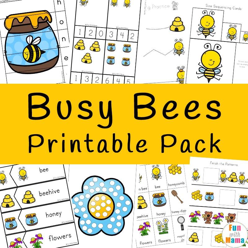 The Best Preschool Worksheet Printables • The Growing Creatives